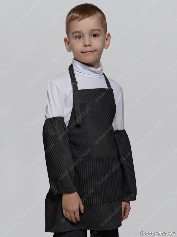 Как сделать из рубашки халат для труда для мальчиков